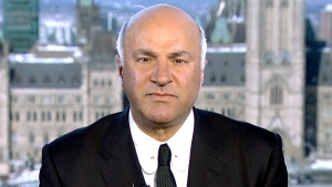 Kevin O'Leary appears on CTV News, Friday, Feb. 26, 2016.