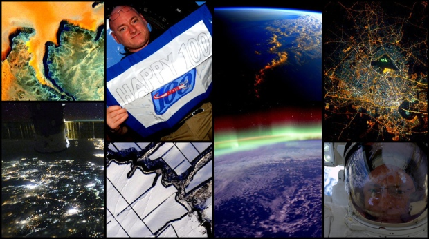 U.S. astronaut Scott Kelly has had his eye on Earth and has been sharing breathtaking images from his year in space on Twitter. Check out this collection of 100 photos from his last 100 days on the International Space Station.