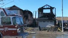 homes, house fire, kincora, northwest, calgary, fi