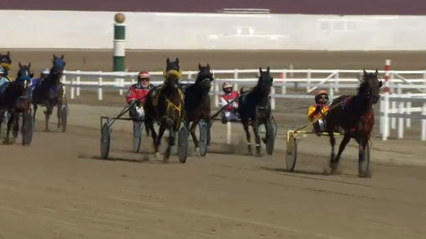 Saturday afternoon's racing action at Century Downs Racetrack and Casino near Balzac