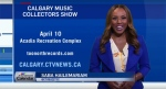 Calgary Music Collectors Show & Santigold