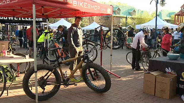 The 10th annual Suit Pursuit takes place Friday in Calgary, an event which pits a cyclist against a transit rider and a car driver in a commute race to the downtown core.