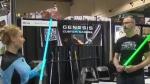 Light sabers - Calgary Expo