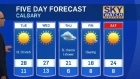 Calgary weather for May 2, 2016