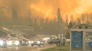 Fort McMurray in flames