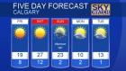 Calgary forecast May 5, 2016