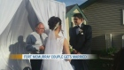Couple get married after losing everything
