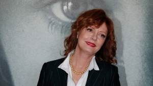 Actress Susan Sarandon poses for photographers during a photo call for the Women In Motion Talks at the 69th international film festival, Cannes, southern France, Sunday, May 15, 2016. (AP / Thibault Camus)