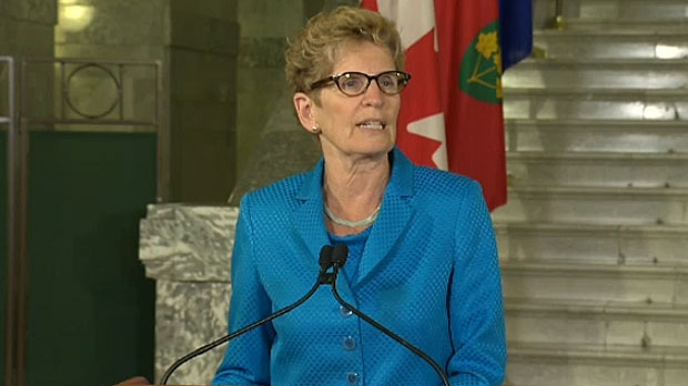 Ontario Premier Kathleen Wynne will be in Calgary on Friday, meeting with the mayor and speaking at the Chamber of Commerce.