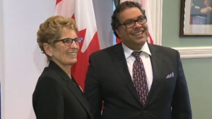 Premier Wynne & Mayor Nenshi