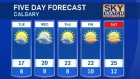 Calgary weather for May 30, 2016