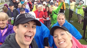 OneWalk to Conquer Cancer participants, including CTV Morning Live's Kevin Stanfield and Courtney Ketchen, start their 25 km walk on Saturday morning