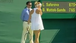 Skirting controversy at Wimbledon
