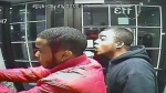 Suveillance video still of attempted armed robbery