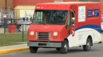 Canada Post vehicle - Calgary