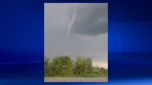 Funnel cloud -Ponoka