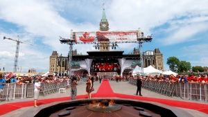 Canada Day Celebrations in Ottawa