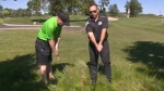 Golfing A Round with Scramble and Orbs Tip 3