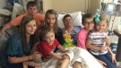 Beth Laitkep is pictured with her six children. (GoFundMe)