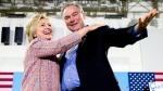 Hillary Clinton names Sen. Tim Kaine as VP