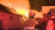Auto reapir shop fire - Alyth/Bonnybrook