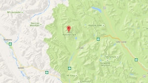 Parks Canada officials say Deon was found on Tuesday and is safe and okay. (Google)