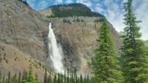 Takakkaw Falls, near Field, B.C.