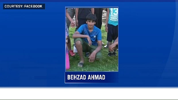 Behzad Ahmad, 11, was swept away in the current of the Yoho River on Friday. His body was found on Tuesday morning.