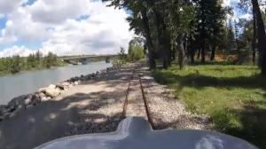 Bowness Park mini-train
