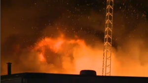 July 28 fire at a NE auto shop - suspicious