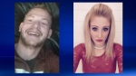 Stuart McCartney and Sarah Seaba were last heard from on the afternoon of July 27 (RCMP)
