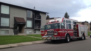 Fire crews rescued a man in his 60s from a fire that broke out in a northwest Calgary home. He was taken to hospital in critical condition.