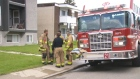 One man died in a fire that broke out early Tuesday in a Bowness apartment building.