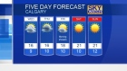 Calgary Sky Watch Weather for August 23, 2016.