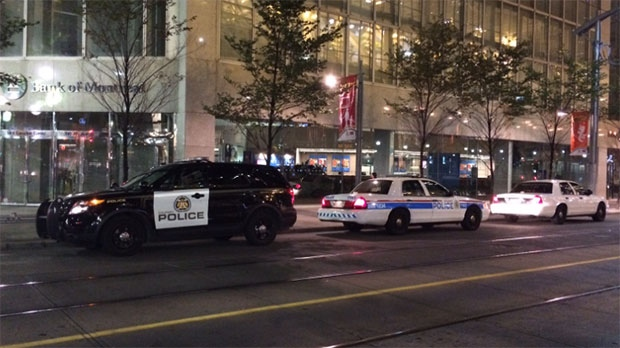 Police investigate bomb threat downtown