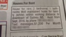 "This ad appeared in the Cape Breton Post on August 24, 2016. Readers quickly turned to social media to condemn the ""racist"" ad."