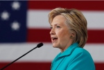 Democratic presidential candidate Hillary Clinton speaks at a campaign event at Truckee Meadows Community College, in Reno, Nev., Thursday, Aug. 25, 2016. (THE CANADIAN PRESS/AP, Carolyn Kaster)