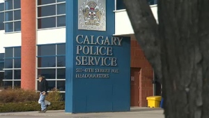 Calgary police headquarters
