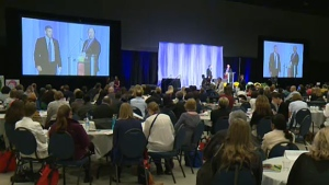 The Congress for the Prevention of Child Abuse and Neglect runs at the Telus Convention Centre until Wednesday. Nearly 1,200 people, along with representatives from 42 countries will attend.