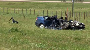 Highway crash claims two lives
