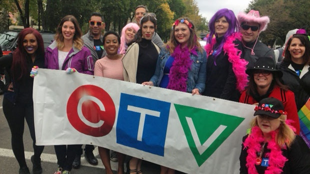 CTV Calgary at the 2016 Calgary Pride Parade