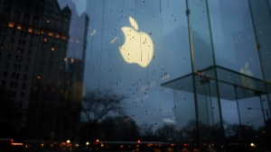 Apple © AFP PHOTO/Jewel Samad