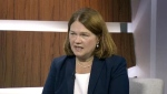 Jane Philpott speaks on CTV's Question Period.