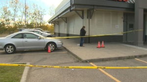 The shooting took place outside of a southwest Calgary nightclub.