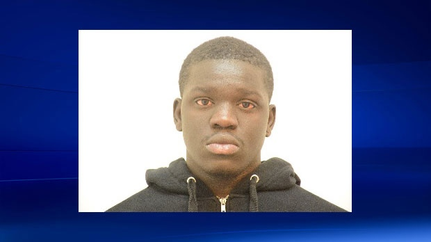 Nelson Lugela is charged with second-degree murder in the death of Mylan Hicks. (Photo: Calgary Crime Stoppers)