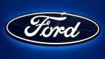 Ford logo on display at the Pittsburgh International Auto Show in Pittsburgh, on Feb. 11, 2016. (Gene J. Puskar / AP)