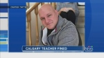 CTV Calgary: Teacher fined by ATA
