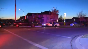 A man in his 30s has been taken to hospital after he was struck and seriously injured by a car in northwest Calgary.