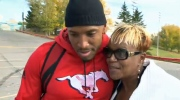 Mylan Hicks' mother - Calgary Stampeders