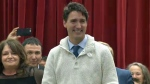 Trudeau - Standoff, Alberta
